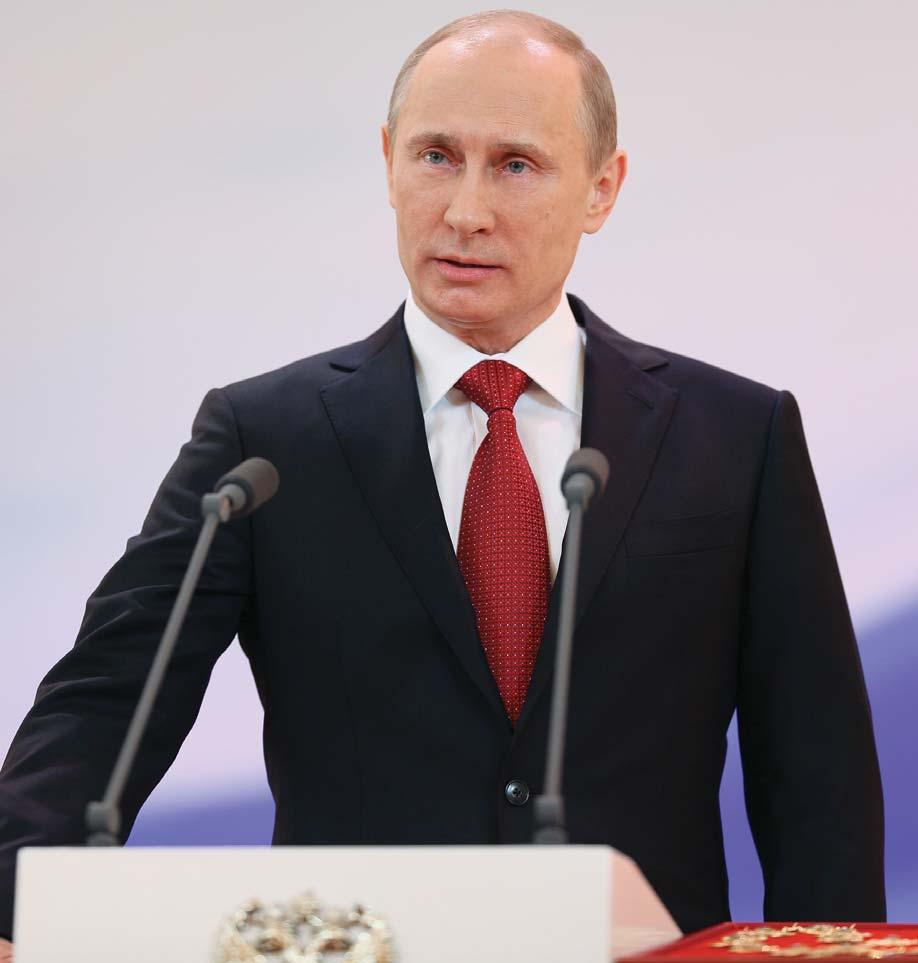 Альтернативный взгляд на Владимира Путина отразили в докладе